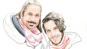Ramin, 31, und Nima, 29, leben in Washington, D. C.