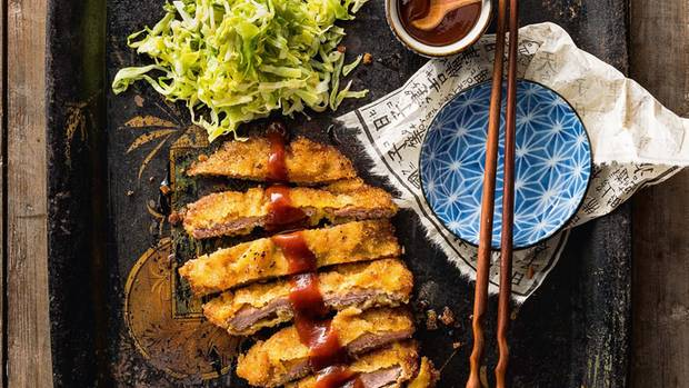 Schnitzel auf Japanisch