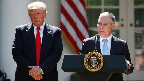 Trumps Umweltbehörde will Klimaschutzinitiative von Obama abschaffen