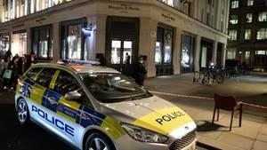 Der Tatort in London: Die Polizei sucht noch immer nach den sechs Einbrechern