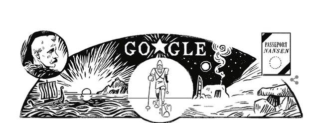 Fridtjof Nansen Doodle