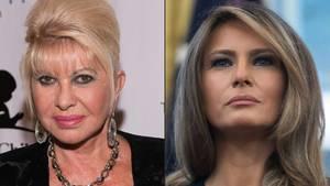 Ivana Trump und Melania Trump