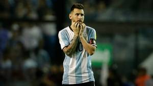 WM-Qualifikation Lionel Messi
