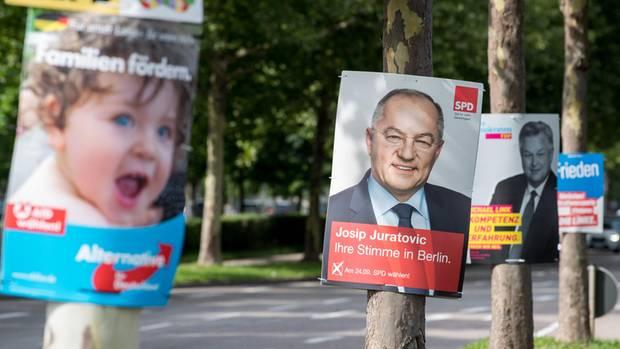 stern-Umfrage Volksparteien
