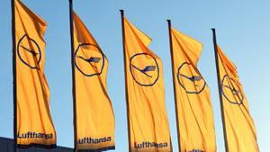 Lufthansa Flaggen