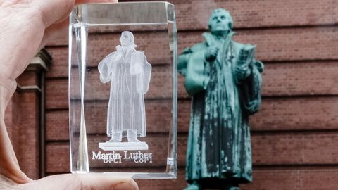Reformationstag 2017 feiert Martin Luther