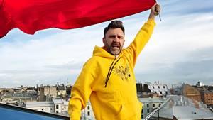 Sergei Schnurow ist ein Petersburger Freigeist: Für viele sind die Songs seiner Band Leningrad ein rotes Tuch.