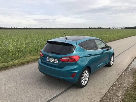 Ford Fiesta 1.0 Ecoboost - ansehnliches Design