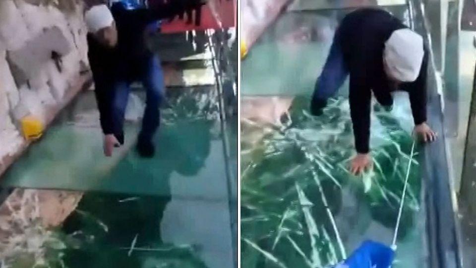 Nervenkitzel für Touristen: Über Abgründe laufen: Die verrücktesten Skywalks in Asien