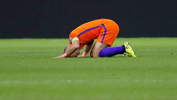 WM-Qualifikation: Portugal und Frankreich fahren zur WM - Aus für Holland trotz Robben