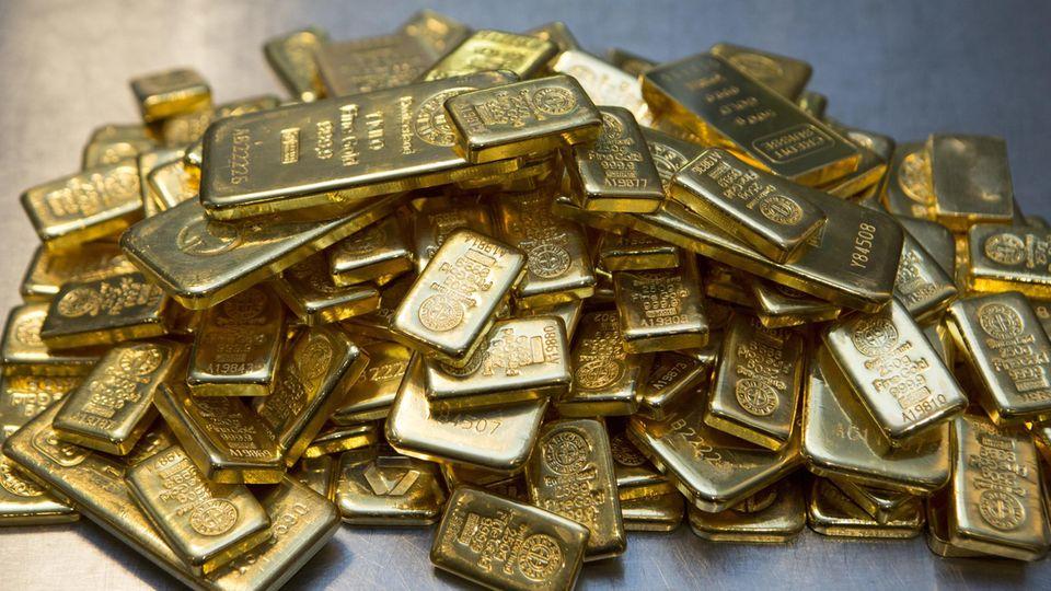 43 Kilogramm Gold landen in der Schweiz jährlich im Abwasser (Symbolbild)