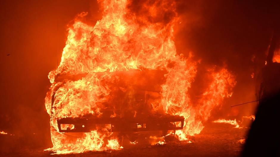 Kalifornien-Großbrände: Dramatische Feuer-Lage - So noch nie dagewesen