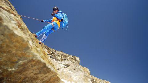 """Hochgebrigsklettern: """"Mit einem Mal verstand ich die Faszination des Kletterns"""""""
