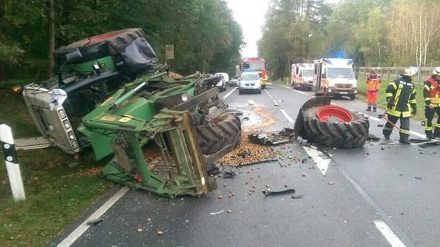 nachrichten deutschland - unfall traktor