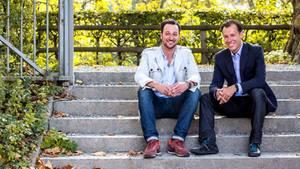 Wydr-Gründer Matthias Dörner (li.) und Timo Hahn