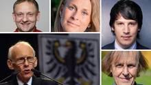 Fünf der zehn vom stern porträtierten AfD-Parlamentarier, die jetzt Deutschland vertreten. Die einen Einblick in die Vielfalt der AfD-Fraktion ermöglichen, der ersten stramm rechten Partei im Bundestag seit Anfang der 60er Jahre