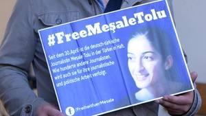 Mesale Tolu sitzt seit dem 30. April im in der Türkei im Gefängnis