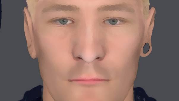Nachrichten aus Deutschland: Mit diesem Phantombild sucht die Polizei nach einem der Täter