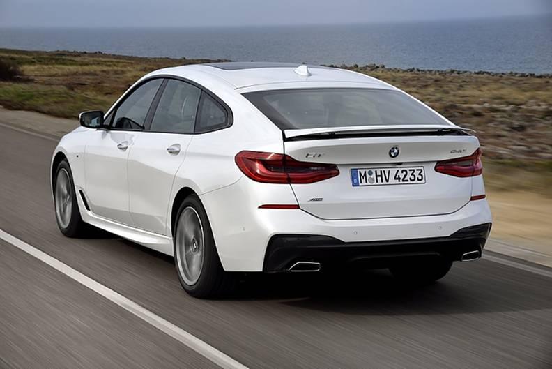 BMW 640i xDrive Gran Turismo - das Heck ist mehr als sechs Zentimeter flacher als beim 5er GT