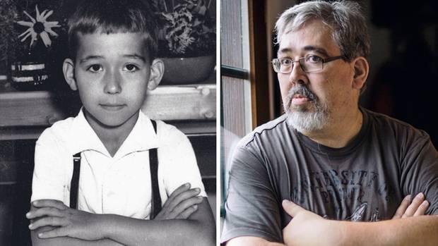 Gerd Keil mit sieben – das einzige Kinderbild, das der 53-Jährige besitzt. Es zeigt ihn, vier Jahre bevor bei der Pioniereisenbahn der Albtraum begann