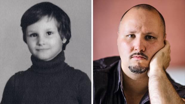 Uwe Trentsch, mit etwa sieben Jahren als Heimkind. Seine Mitbewohner behandelten den heute 42-Jährigen später wie einen Sklaven