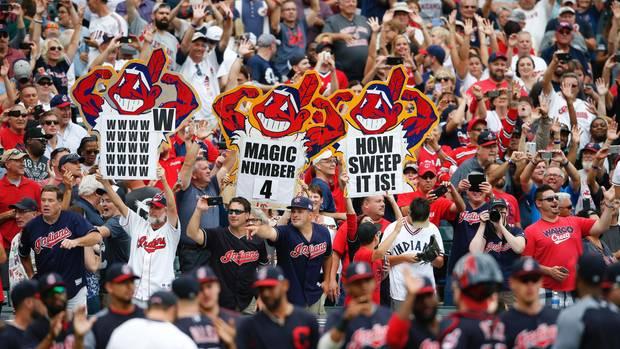 US-Sport: Fans der Cleveland Indians