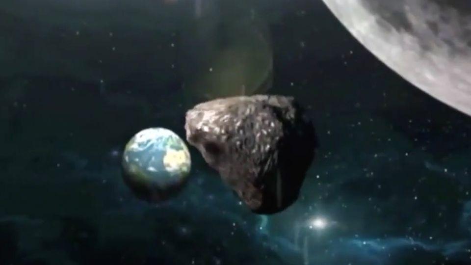 """Weltraum-Mission: Angriff aus dem All: Japanische Sonde """"Hayabusa2"""" beschießt Asteroiden"""