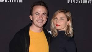Frankie Muniz mit seiner Freundin Paige Pryce
