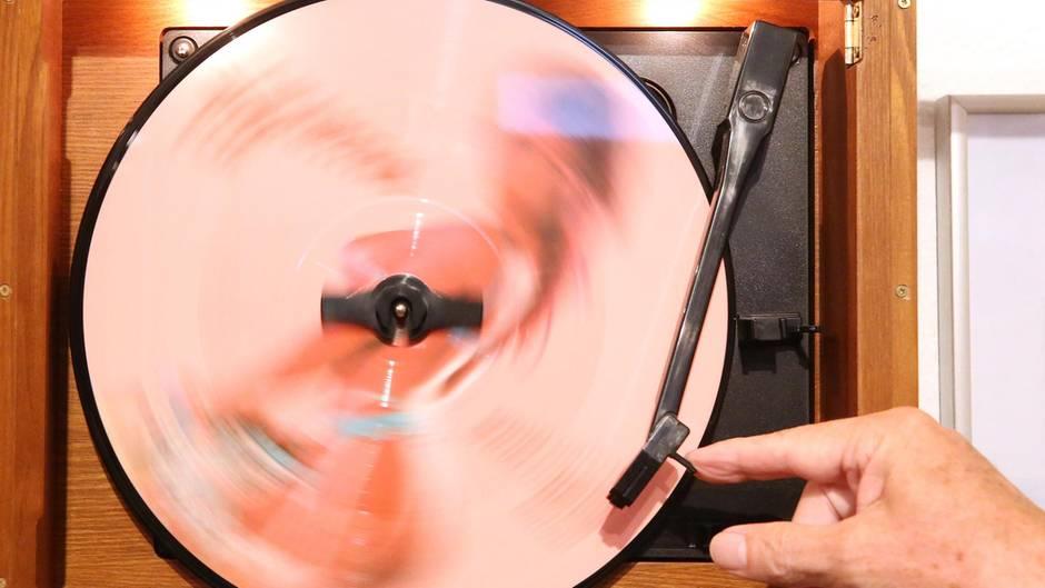 Fein Wie Eine Vinylschallplatte Einzurahmen Ideen - Badspiegel ...