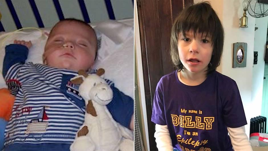 Neue Therapie bei Epilepsie und Autismus  : Ärzte gaben sein Leben auf – heute hat Billy dank Cannabis keine Anfälle mehr