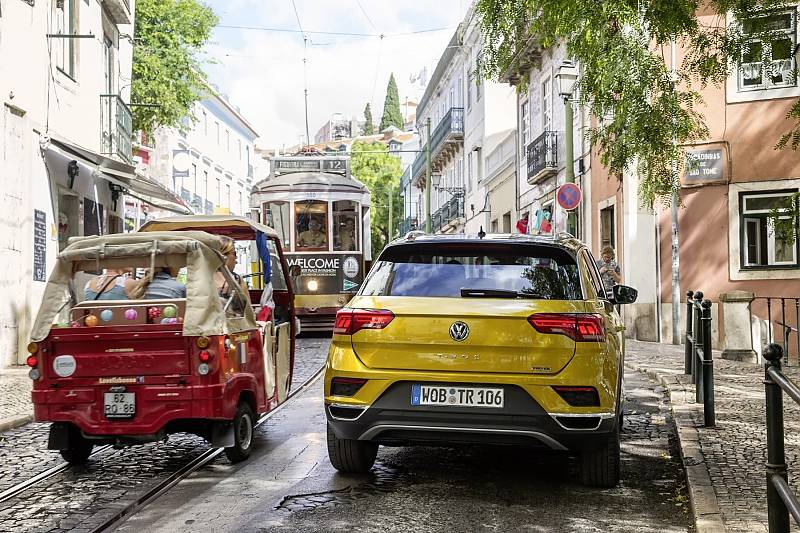 VW T-Roc - unterwegs in Portugal