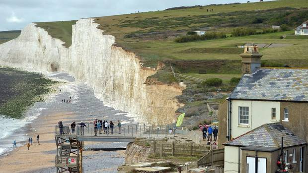 "Die ""Seven Sisters"" Klippen in East Sussex"