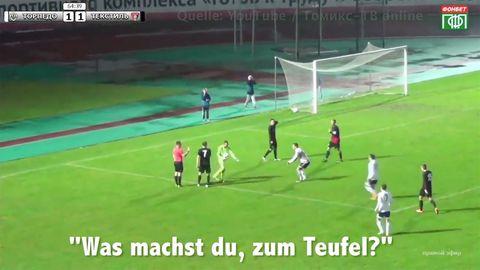 Skandalspiel in der Türkei: Spieler zeigt Schiedsrichter die Rote Karte