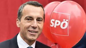 Österreichs Bundeskanzler Christian Kern von der SPÖ