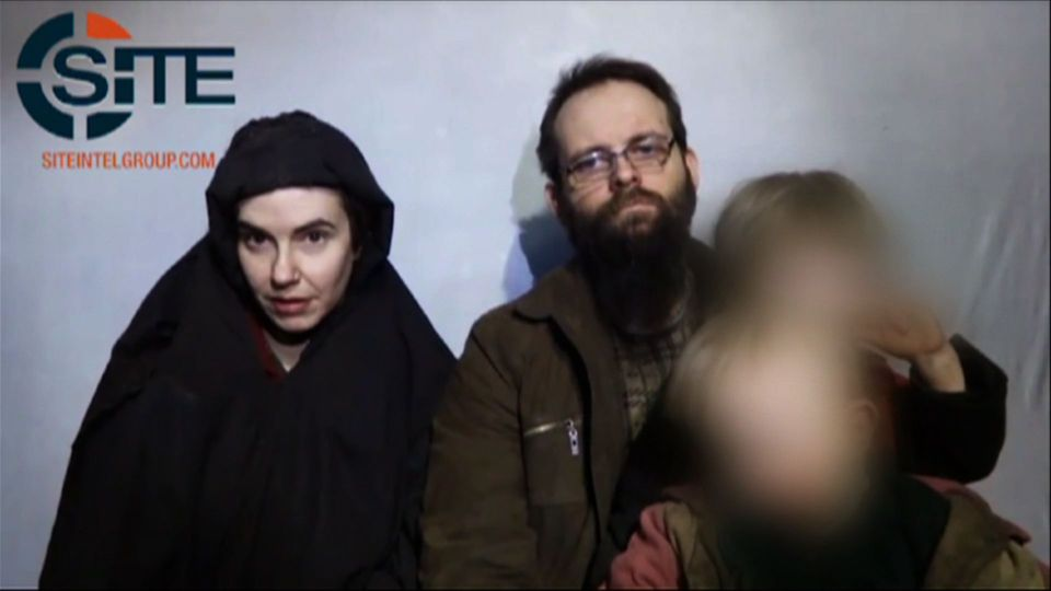 Taliban Familie von Joshua Boyle ist nach fünf Jahren Geiselhaft frei