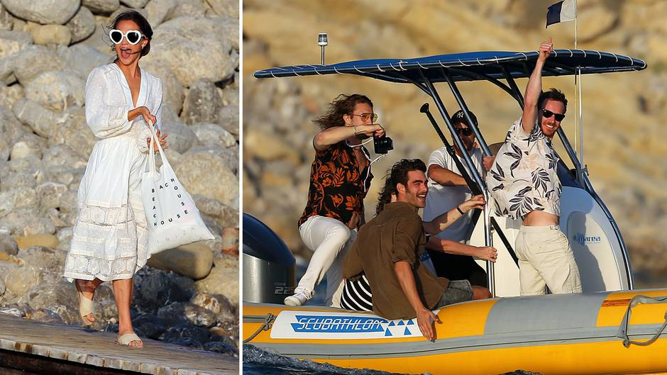Alicia Vikander und Michael Fassbender: Heimliche Hochzeit auf Ibiza?