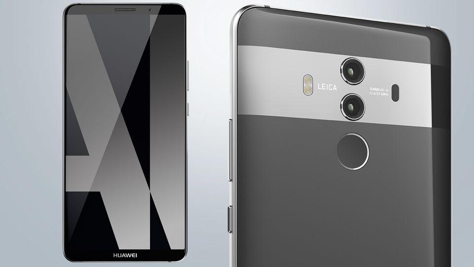 iPhone-X-Konkurrent: Huawei Mate 10 Pro: Die größte Neuerung ist für den Nutzer unsichtbar
