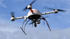 Eine Maschine der Fluggesellschaft Skyjet stieß beim Anflug auf den Flughafen von Québec mit einer Drohne zusammen