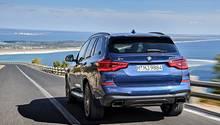 BMW X3 M40i xDrive - auch das Heck präsentiert sich im neuen Look