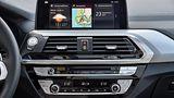 BMW X3 M40i xDrive - der Bildschirm könnte etwas größer sein