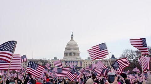 US-Präsidenten-Wahl in Washington