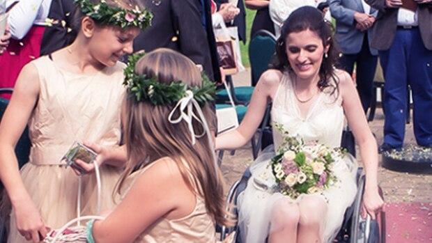 """Meine Hochzeit mit Behinderung: """"An diesem Tag geht es nicht um meinen Rollstuhl, sondern um mich"""""""