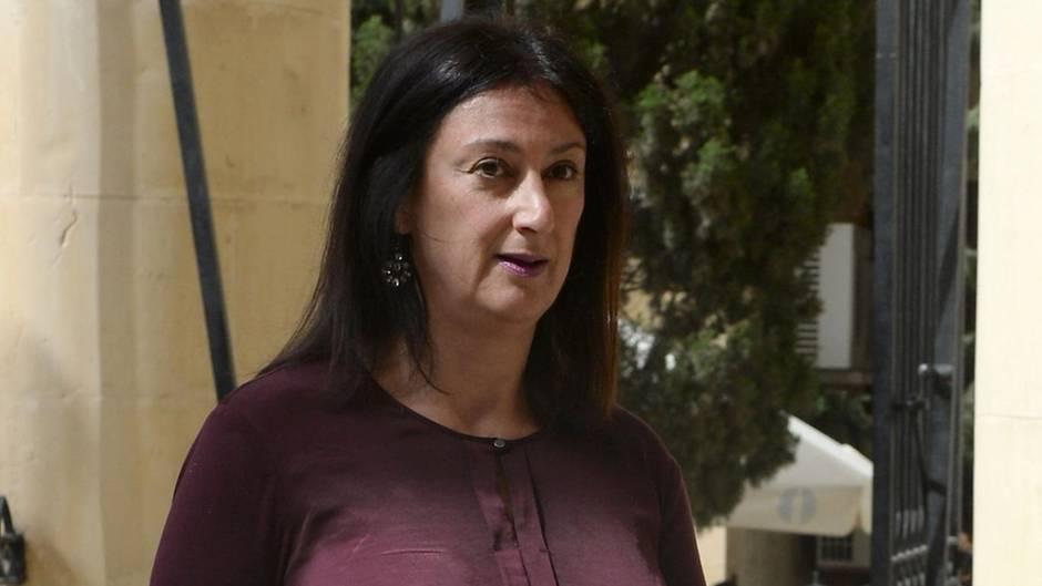 Die Bloggerin Daphne Caruana Galizia starb bei einem Autobombenanschlag auf Malta
