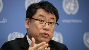 Nordkoreas stellvertretender UN-Botschafter Kim In Ryong warnte vor einem drohenden Atomkrieg