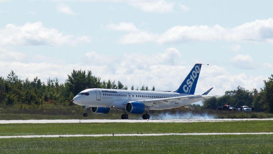 Airbus beteiligt sich an Bombardiers C-Serie