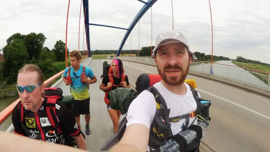 Beitrag vom 18.10.2017: 857 Kilometer bis zur Zugspitze: Deutschland knallhart! (3)