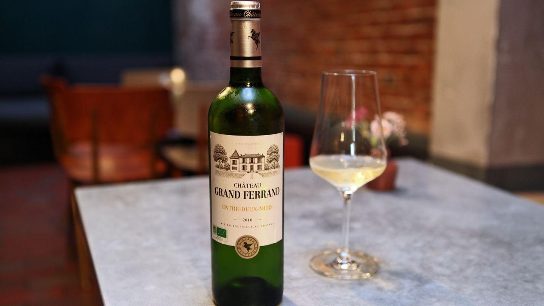 Was ist das für ein Wein?Château Grand Ferrand, Entre-deux-mers, 2016  Wie viel kostet er? etwa 10 Euro