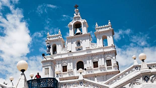 Portugiesische Kolonialherren ließen die katholische Mariä-Empfängnis-Kirche in Panjim errichten