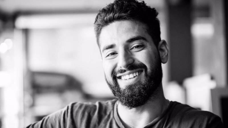 Go Fund Me: Elias Hashimi lächelt in die Kamera