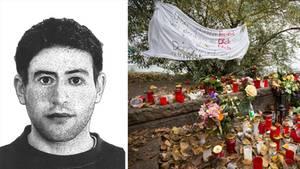 """Mit einem Phantombild sucht die Polizei weiter nach dem Täter. Nach dem """"Alster-Mord"""" war die Anteilnahme in Hamburg groß."""